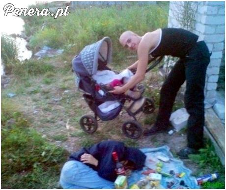 Nie ma to jak piknik z rodzicami