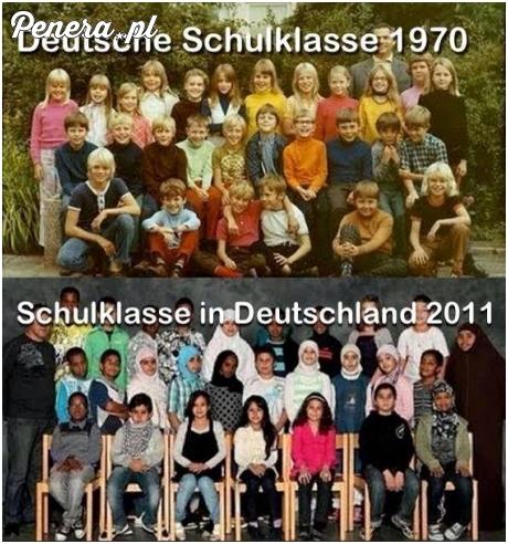 Niemcy kiedyś i dzisiaj