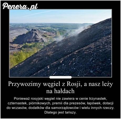 Niestety ale zagraniczny węgiel jest po prostu tańszy