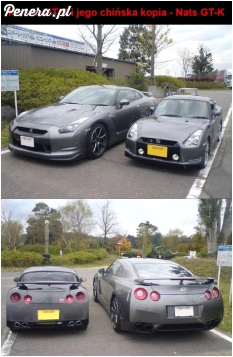 Nissan GT-R i jego chińska podróba