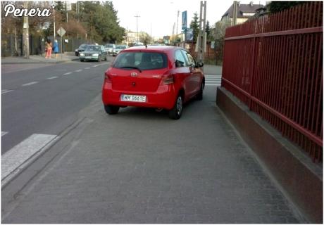 No to już jest przesadzone parkowanie