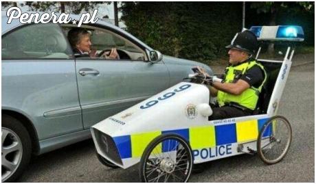 Nowe pojazdy pościgowe angielskiej policji