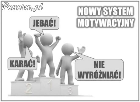 Nowy system motywacji w korpo