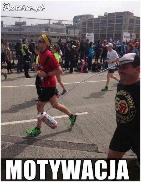 Odpowiednia motywacja to podstawa każdego biegacza