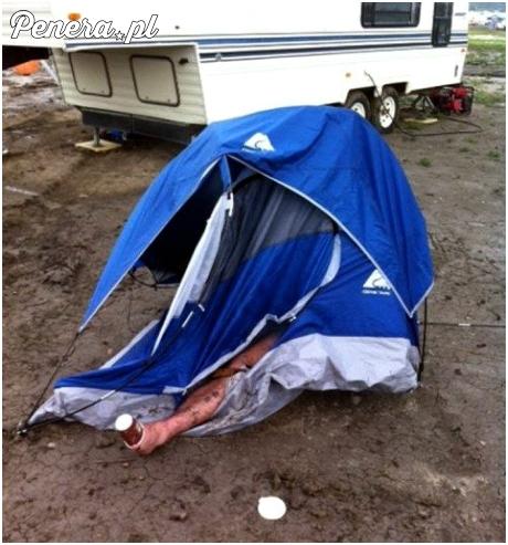 Odpowiednio rozłożony namiot to podstawa każdej imprezy