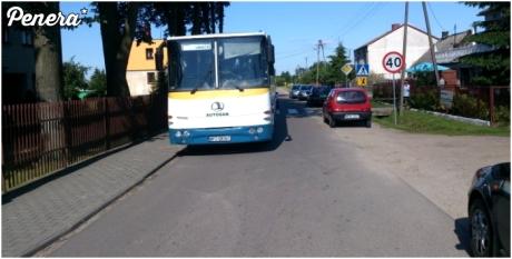 Parkowanie autobusu