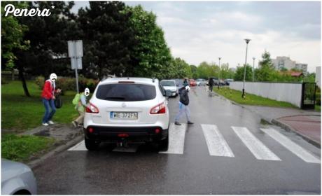 Parkowanie prawdziwego debila