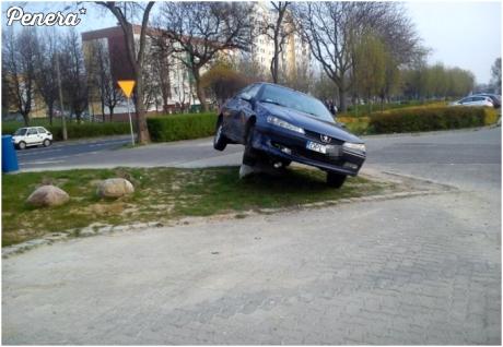 Piękne parkowanie