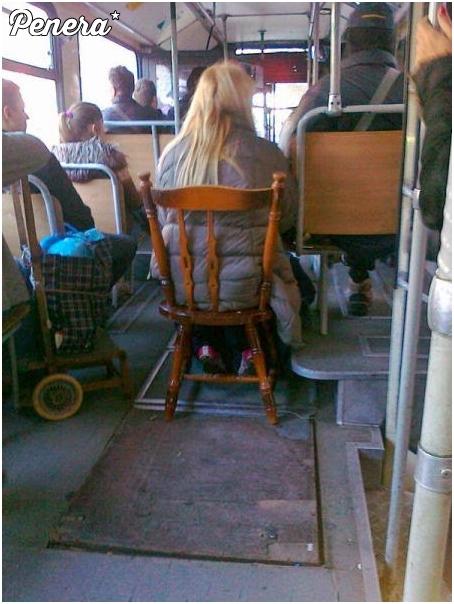 Po co stać skoro można siedzieć