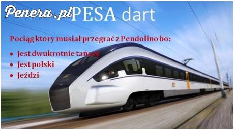 Pociąg który musiał przegrać z Pendolino