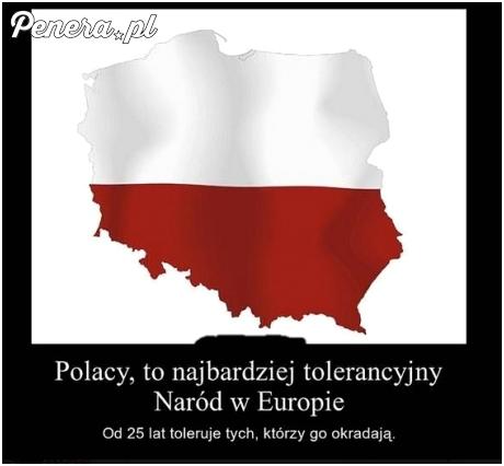Polacy to najbardziej tolerancyjny naród
