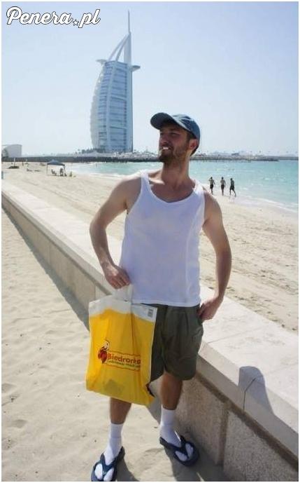 Polak w Dubaju :D