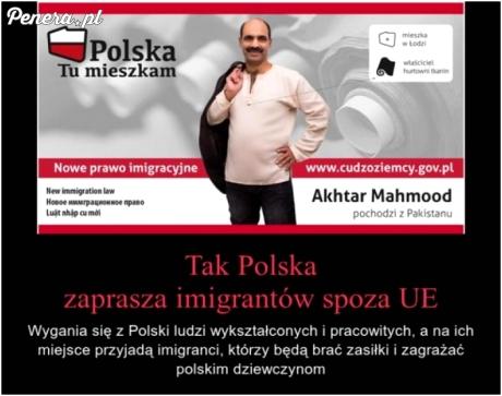 Polska logika - wygonić swoich, zaprosić imigrantów