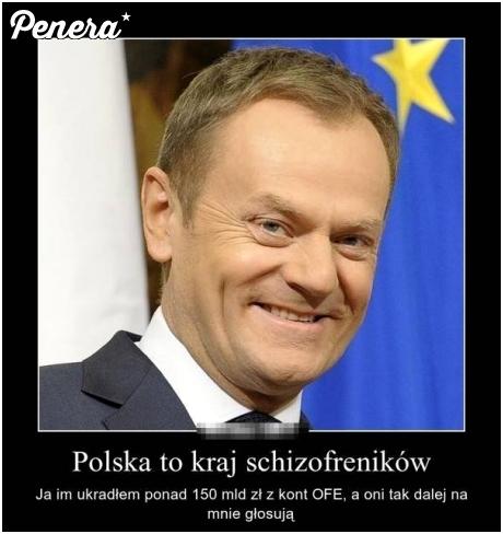 Polska to kraj schizofreników