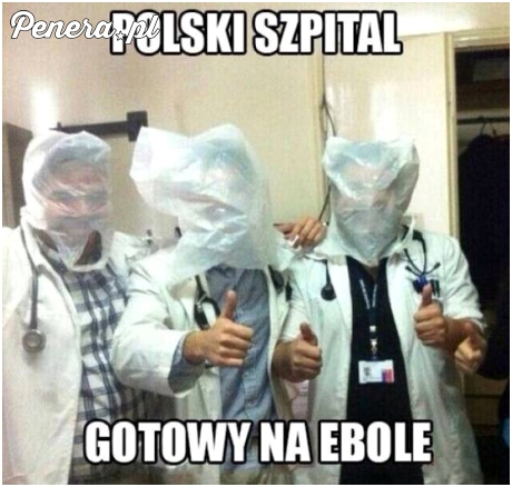 Polskie szpitale gotowe na Ebolę