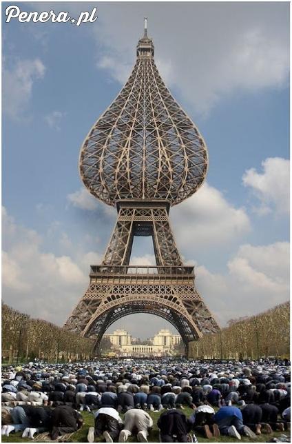 Ponoć zatwierdzono już nowy projekt Wieży Eiffla