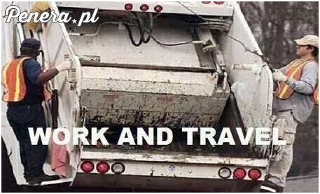 Praca i podróżowanie