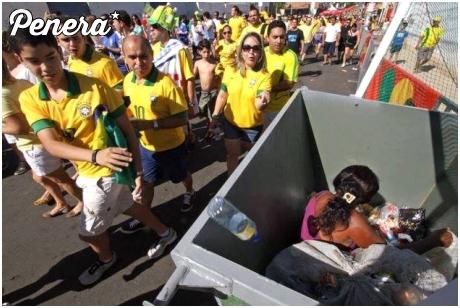 Prawdziwe oblicze mistrzostw świata w Brazylii