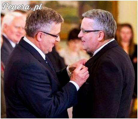 Prezydent odznaczył Bronisława Komorowskiego