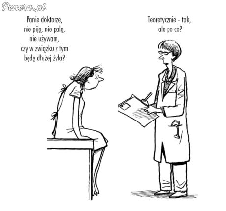 Przychodzi feministka do lekarza