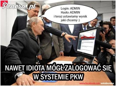 Putin i ustalanie wyniku wyborów