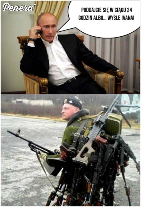Putin wysyła posiłki