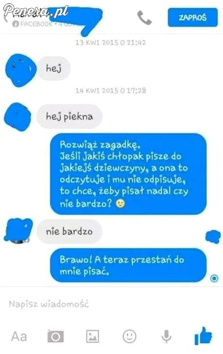 Rafał dostał szybką ale dosadną odpowiedz