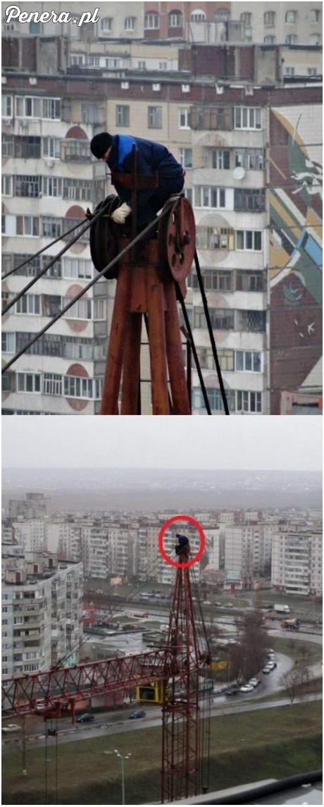 Rosyjskie BHP wygląda mniej więcej w taki sposób