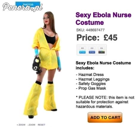 Seksowny strój ebola