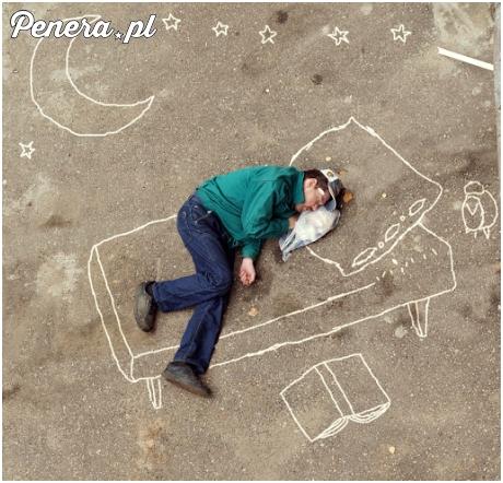 Śpij słodko uliczny menelu