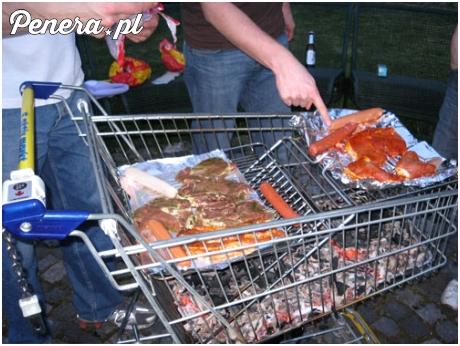 Studencki grill pod akademikiem