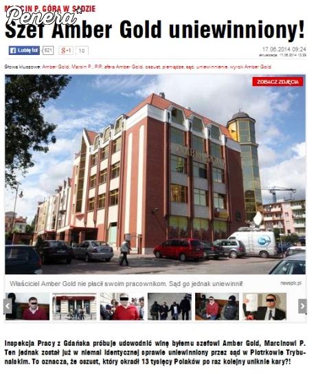 Szef Amber Gold uniewinniony!