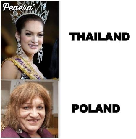 Tajlandia kontra Polska