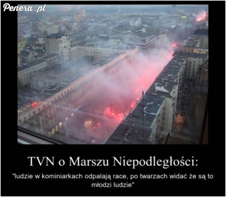Tak TVN widział Marsz Niepodległości