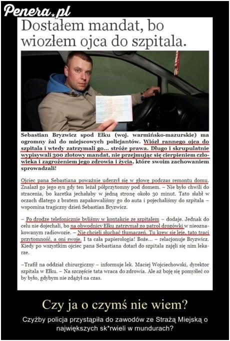 Tak właśnie wygląda pomoc polskiej policji