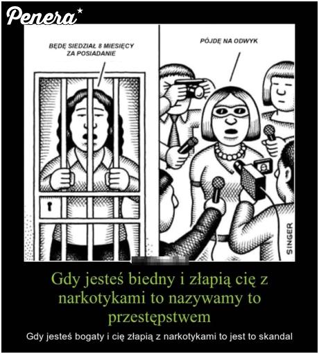 Tak wygląda polska sprawiedliwość