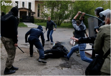Tak wyglądały wybory na Ukrainie