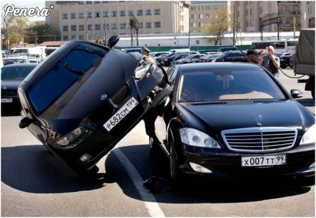 To dopiero ciasne parkowanie
