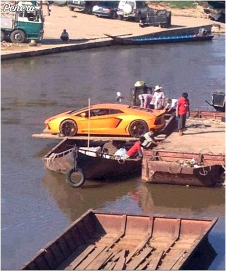 Transport Lamborghini