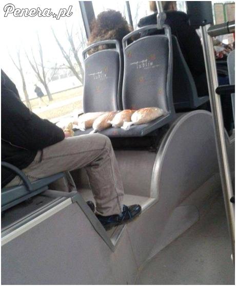 Transport zmęczonego chleba
