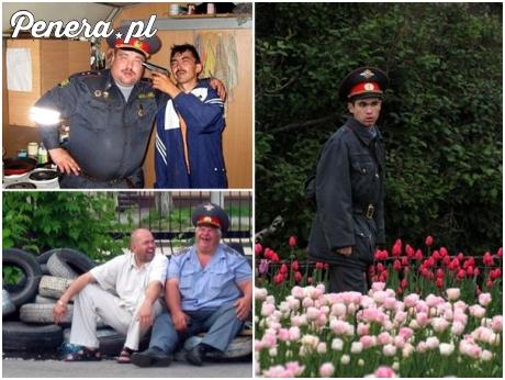 Typowi rosyjscy policjanci