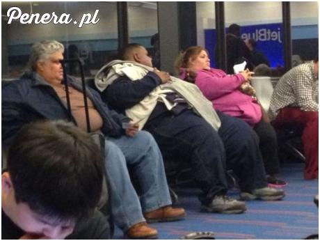 Typowy widok na amerykańskim lotnisku