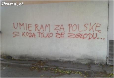 Umieram za Polskę