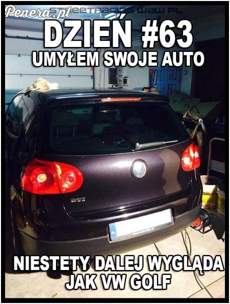 Umył auto i dalej bez zmian ;)