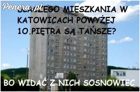 W Katowicach mieszkania powyżej 10 piętra są tańsze