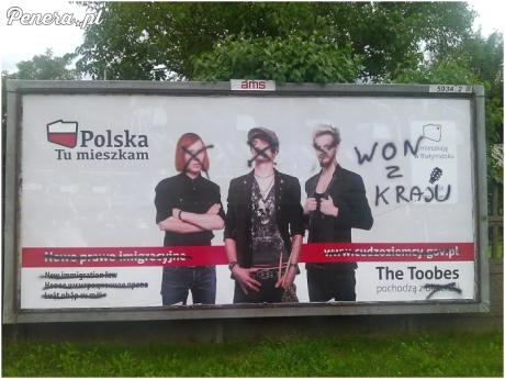 W Łodzi nie są mile widziani