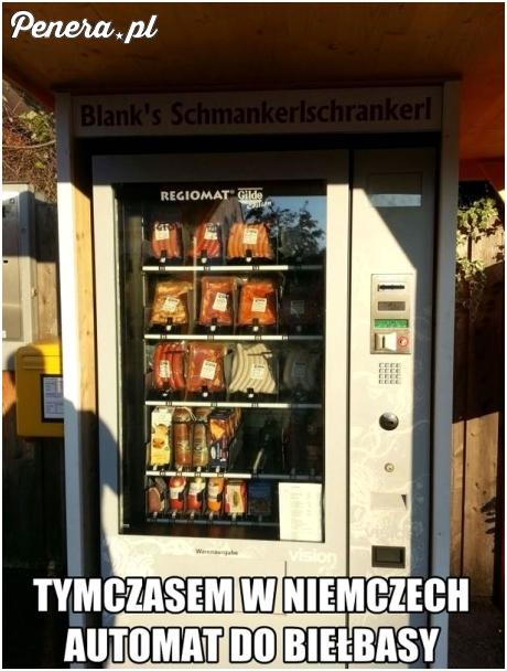 W Niemczech mają już automaty do kiełby