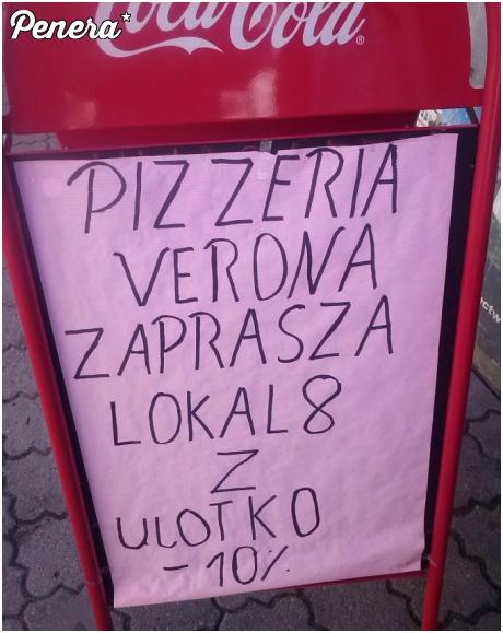 W tej pizzerii z ulotko taniej