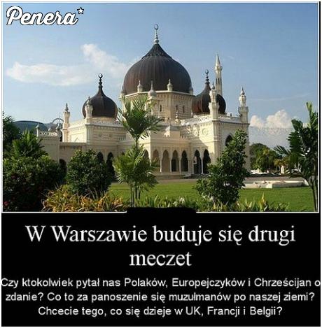 W Warszawie buduje się już drugi meczet