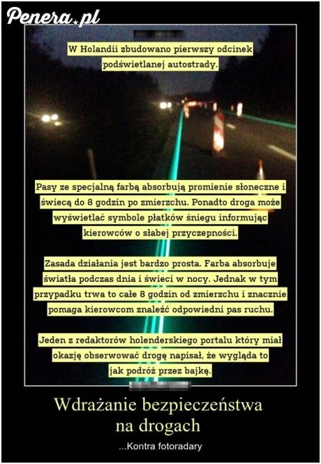 Wdrażanie bezpieczeństwa na drogach poziom Holandia